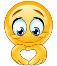 emoji mani cuore